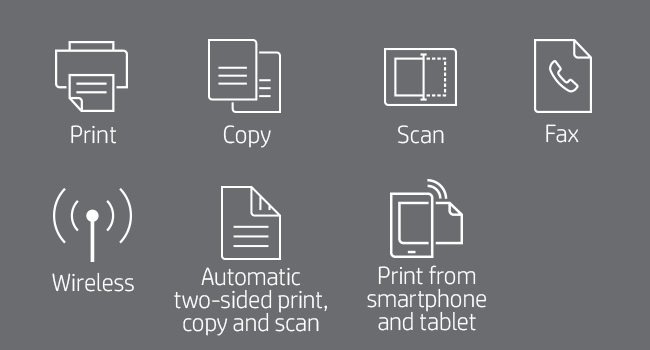 print scan copy fax two-sided duplex smartphone tablet 802.11