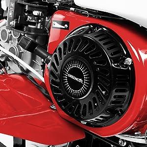 Greencut Gtc300Xe Motoazada de Gasolina 7Cv, Rojo, 85cm: Amazon.es ...