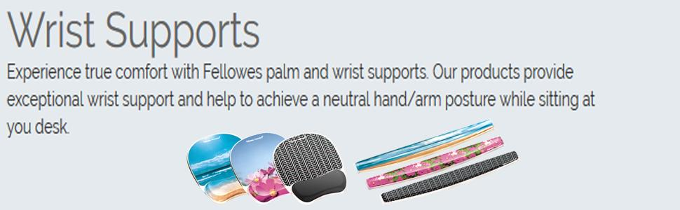 Fellowes Photo Gel Keyboard Wrist Rest with Microban Protection Sandy Beach 9179401