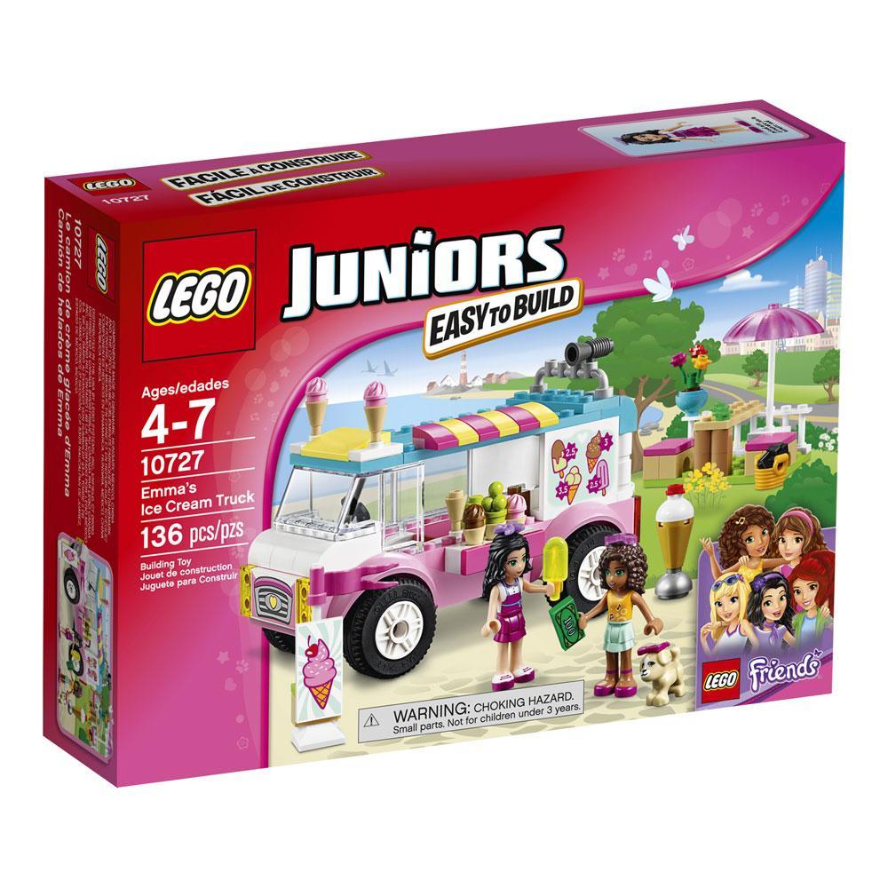 Amazon.com: LEGO Juniors Emma's Ice Cream Truck 10727 Toy ...