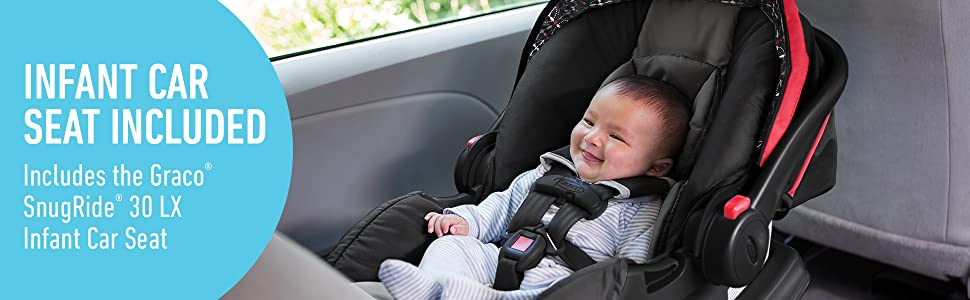 FastAction SE Travel System top rated SnugRide 30 LX Infant Car Seat