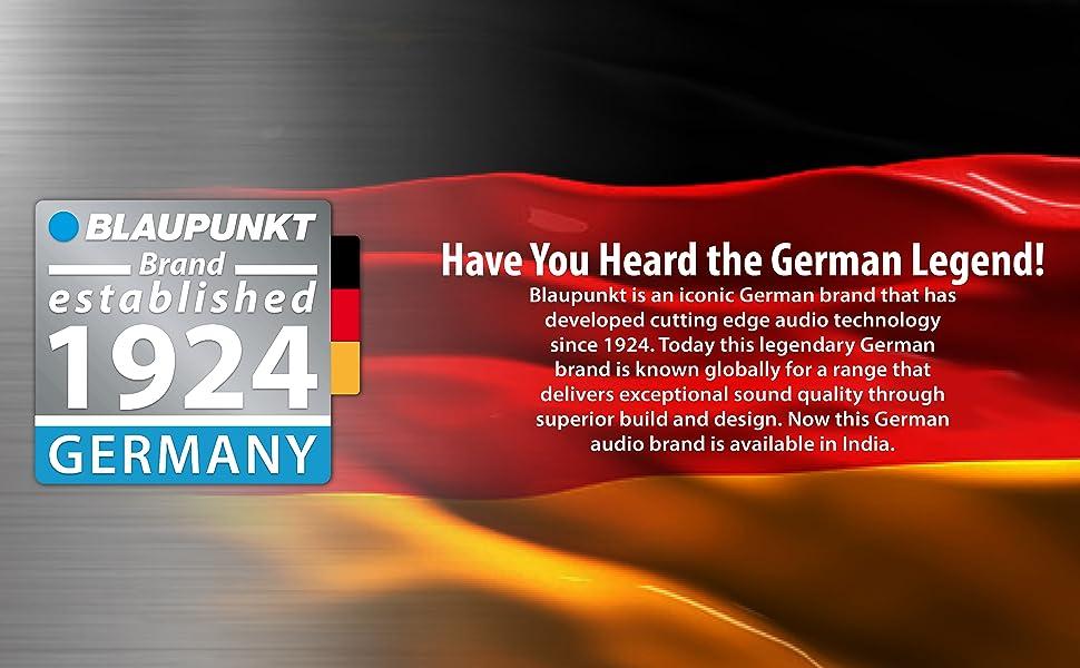 blaupunkt, german audio tecch