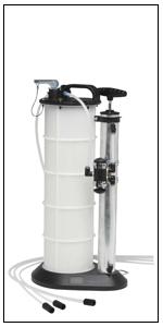 MityVac 2.3 Gallon Pneumatic Fluid Oil Evacuator Pump Kit #MV7300