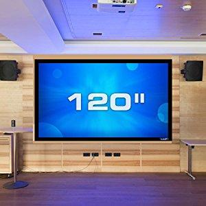 Amazon.com: QualGear 120-Inch Fixed Frame Projector Screen