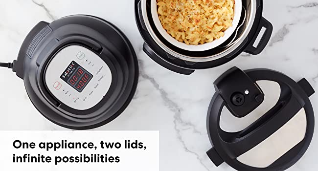 Instant Pot, Insta Pot, multicooker, pressure cooker, air fryer, air fry, bake, broil,