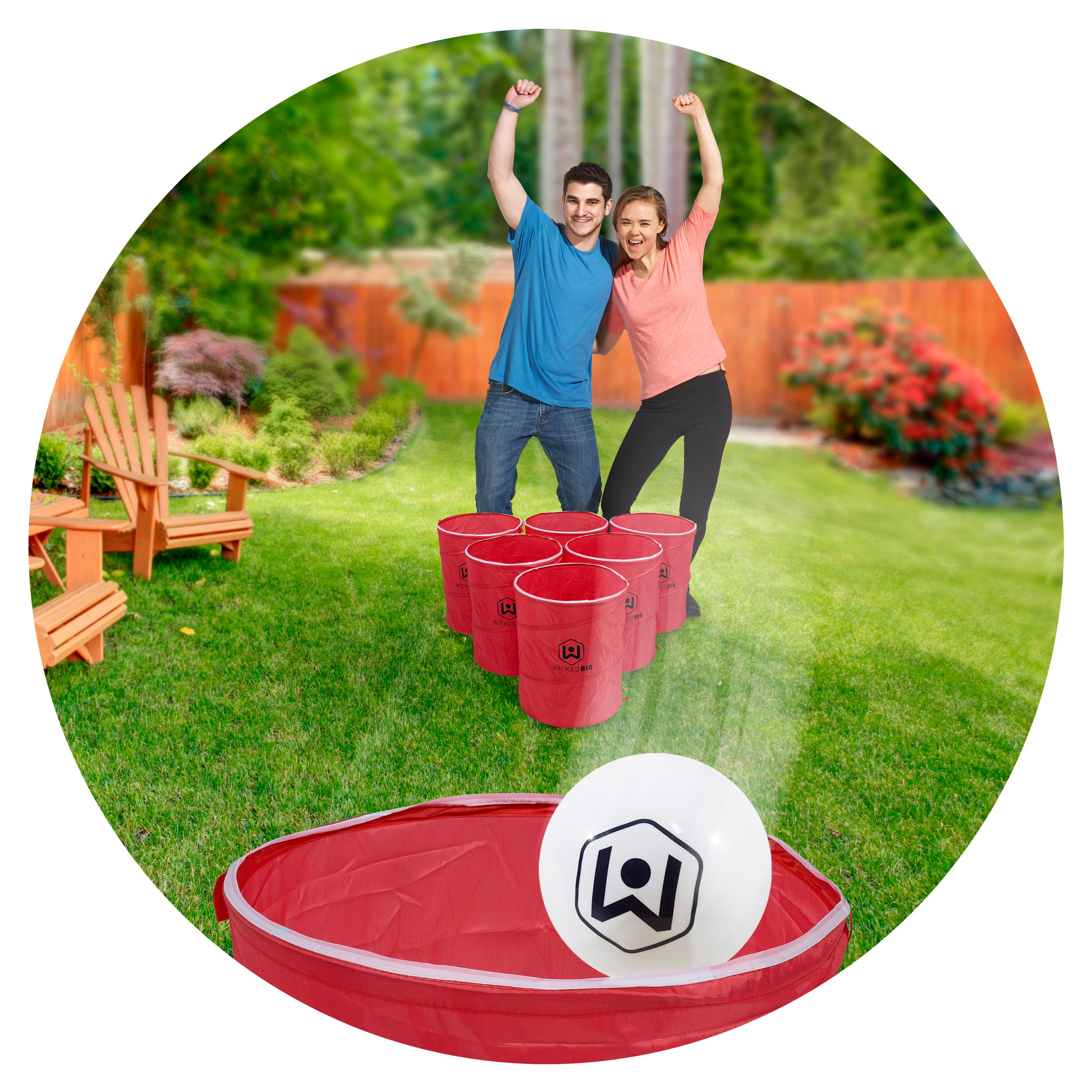 Amazon Com Wicked Big Sports Supersized Pong Outdoor