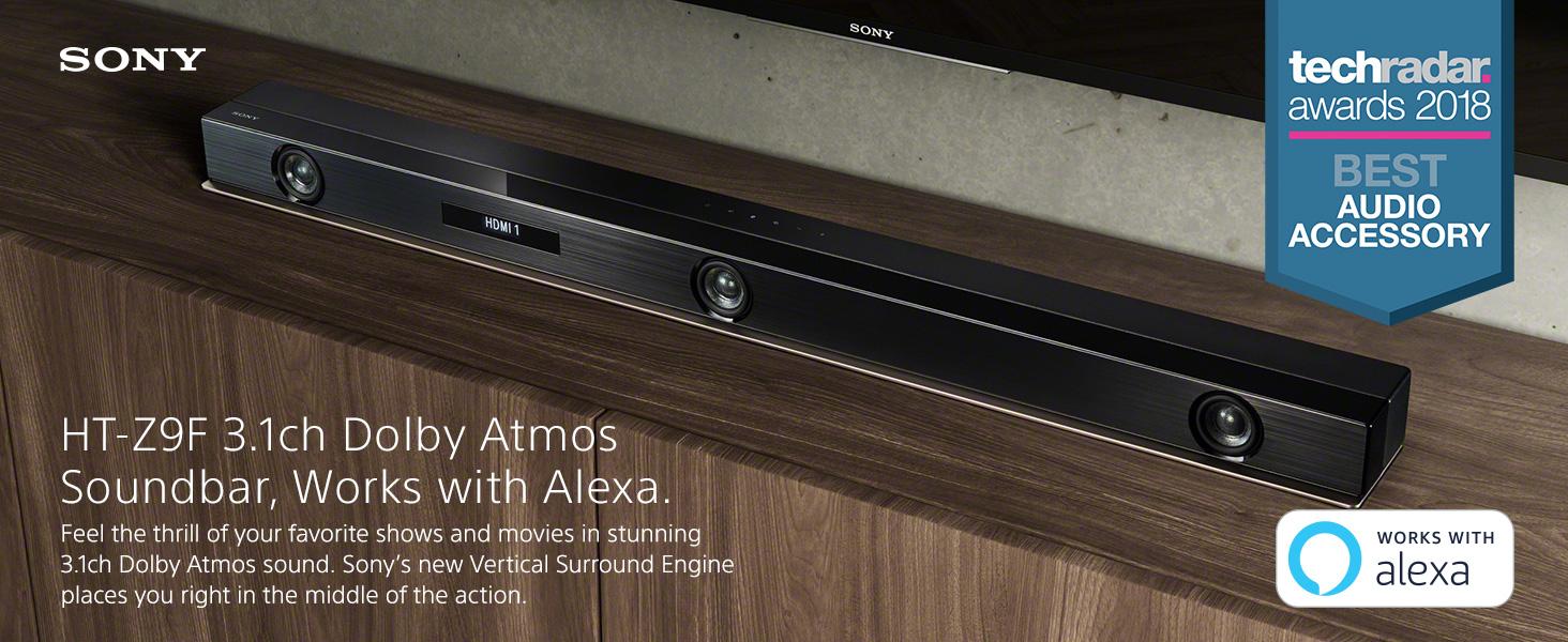 Sony Z9F 3 1ch Sound bar with Dolby Atmos and Wireless Subwoofer (HT-Z9F)