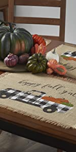 fall and harvest table decor elrene home fashions