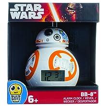 Lego Réveil lumineux BB 8 Star Wars BulbBotz 2020503 pour enfant
