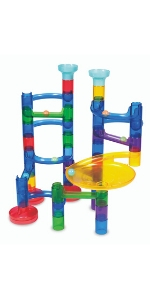 Galt Glow Marble Run, Construction Kit for Kids