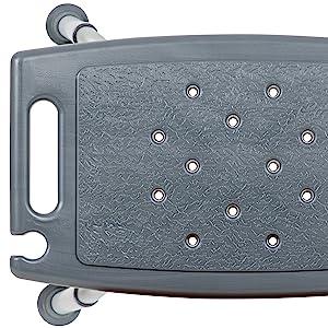 Bath amp; Shower Chair with Non-slip Feet