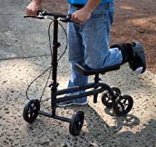 Steerable KneeRover knee walker