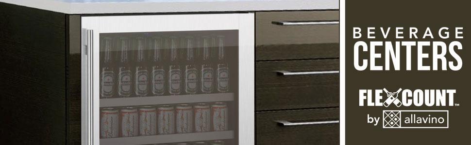 Allavino FlexCount Series Beverage Centers