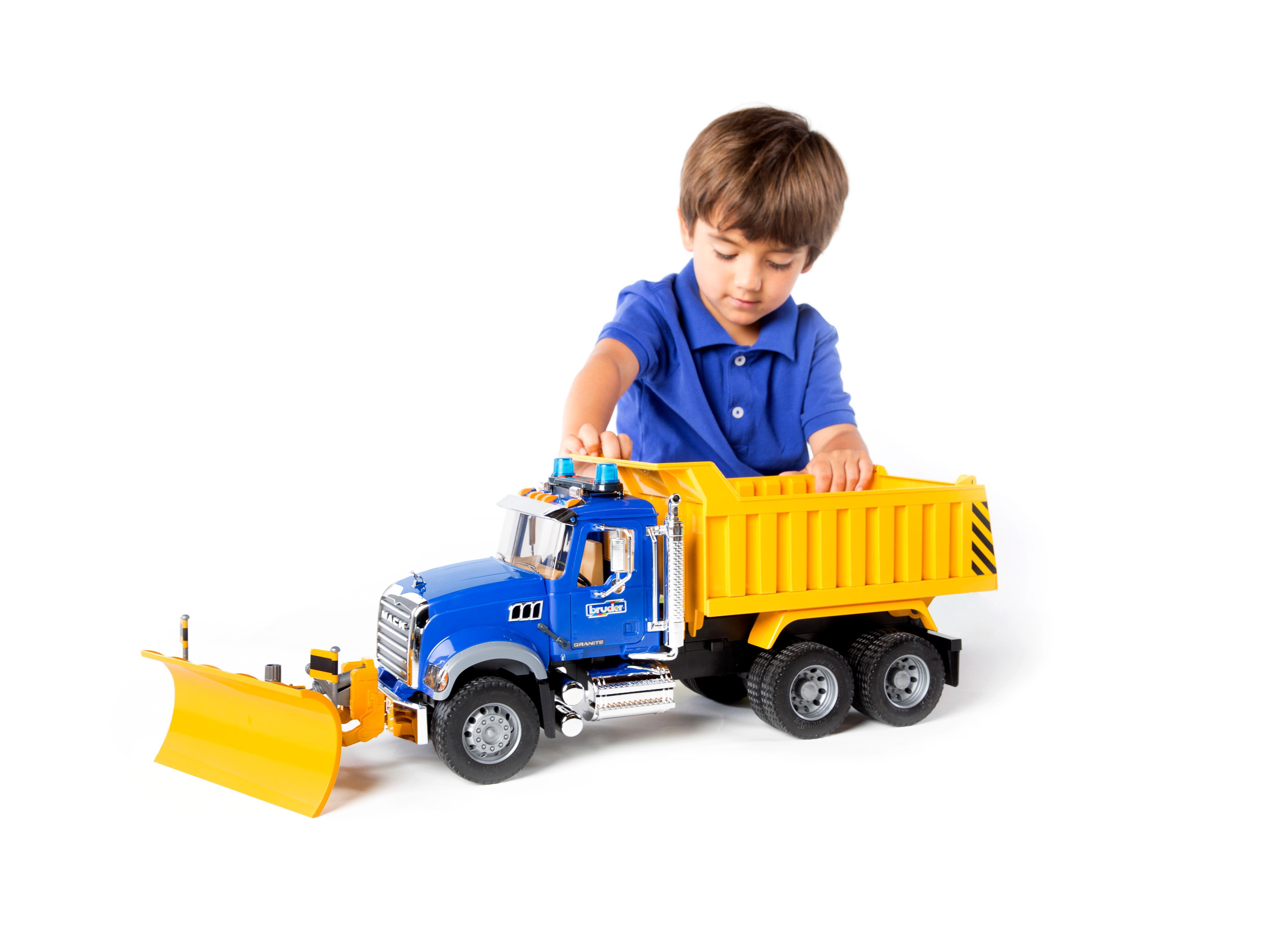 Right now toys mack truck freakin' RULE!
