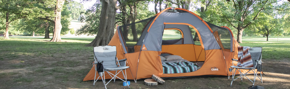 Core Equipment, Camping, Tent, Large Tent, Big Tent, Best Tent, Family Tent, Cheap Tent
