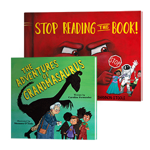 Stop Reading This Book, Picture Book, Juvenile Fiction, Social Themes, Adventures of Grandmasaurus