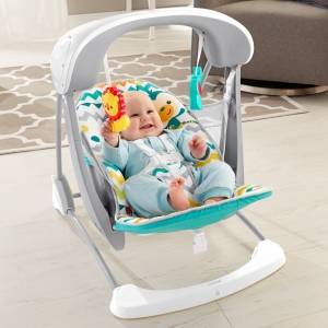 Fisher-Price Colourful Carnival Take-Along Baby Swing & Infant Seat