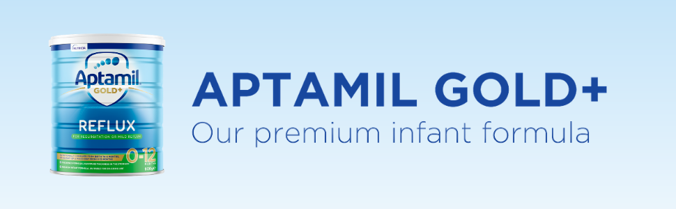 Aptamil Gold+ Reflux Infant Baby Formula From Birth to 12 Months