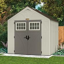 Tremont 8 x 7 Storage Shed & Amazon.com: Suncast BMS8100 Tremont 8u0027 x 10u0027 Storage Shed: Garden ...