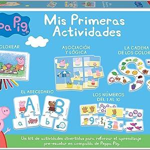 Educa-Mis Primeras Actividades Peppa Pig: Colorear