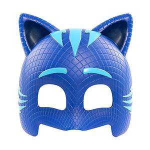 máscaras, pj masks, disfraces, cascos, pijamas, carnaval, azul, rojo