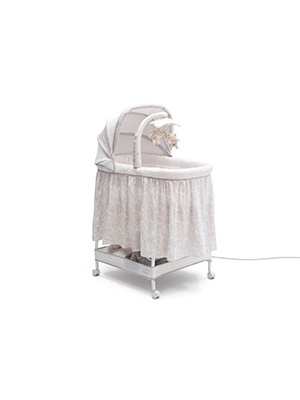 bassinet rocker rock baby sleeper wheels