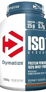 Dymatize ISO 100 Chocolate Peanut 900g - Hidrolizado de ...