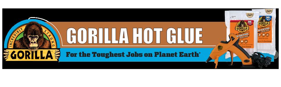 """4/"""" Full Hot Glue Sticks Gorilla Glue"""