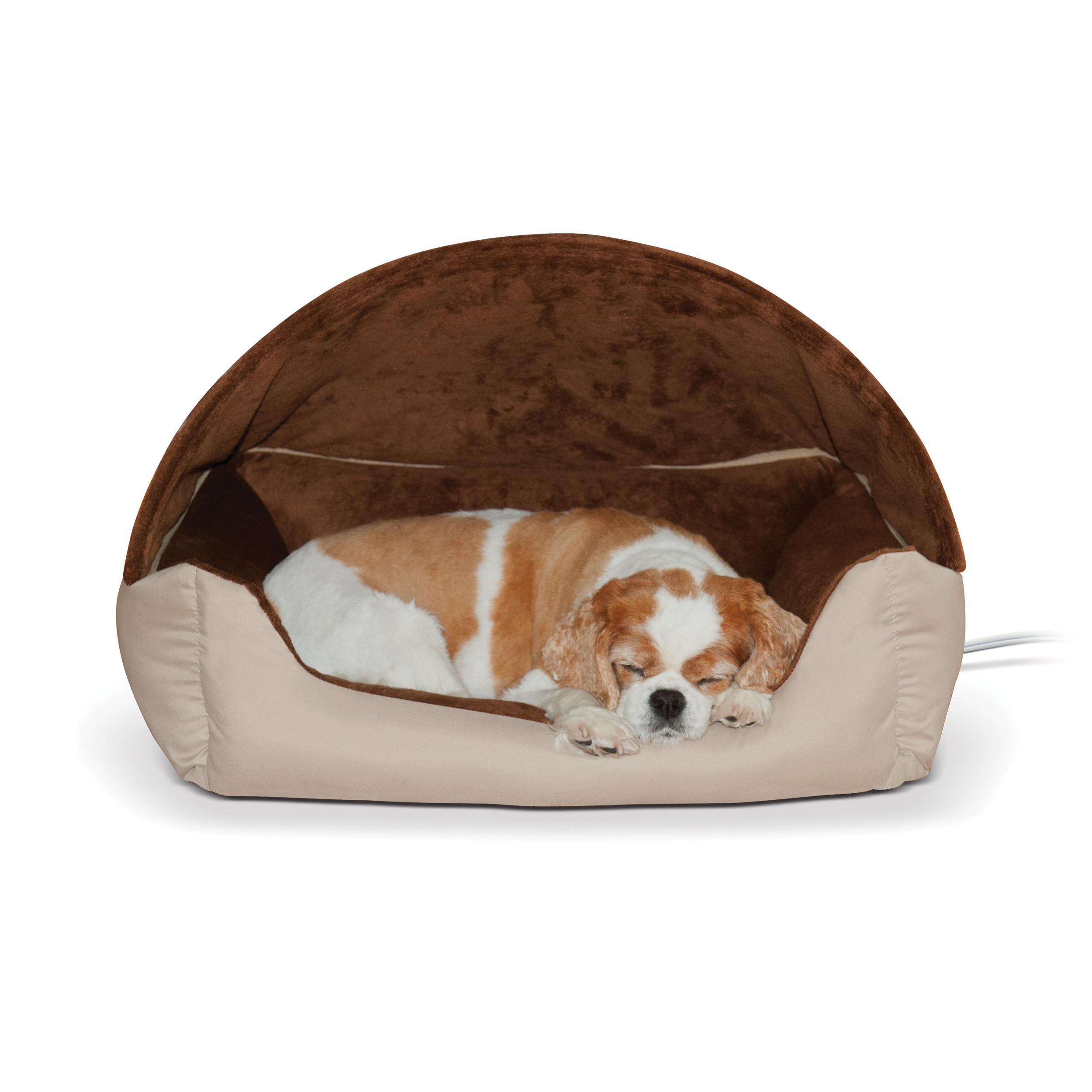 Amazon.com : K&H Pet Products Thermo-Hooded Lounger Heated
