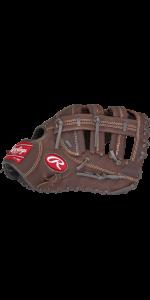 Player Preferred Adult Baseball/Softball First Base Glove, 12.5 inch