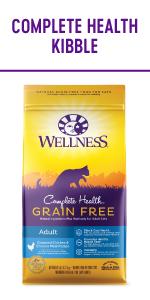 Grain free cat food, wellness complete health cat food, Grain Free wet cat food
