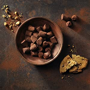 cookie chocolate chip cocoa dusted truffles monty bojangles chocolate box luxury gift delicious
