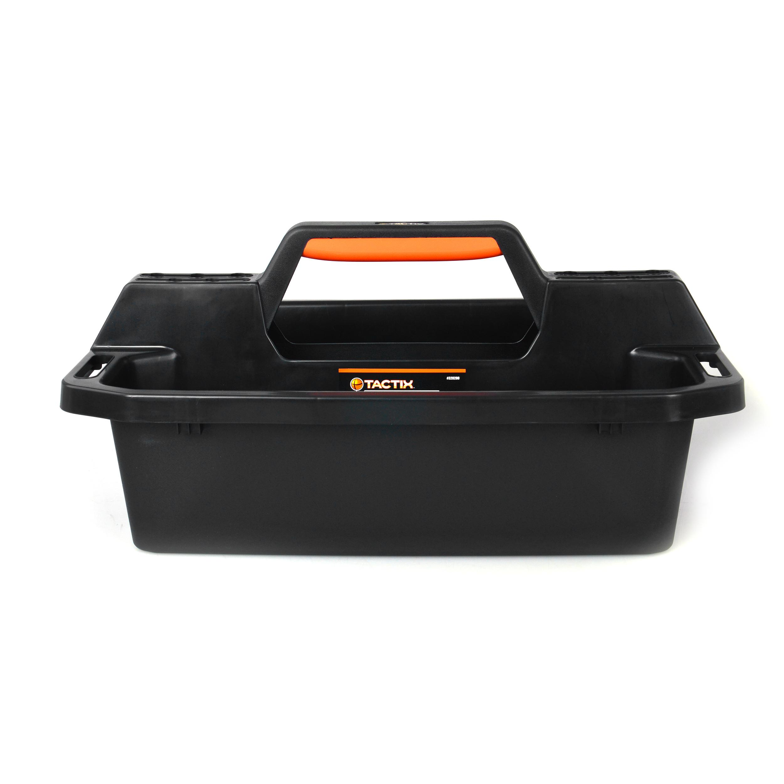 320200 Tactix Plastic Tote /& Caddy Tray