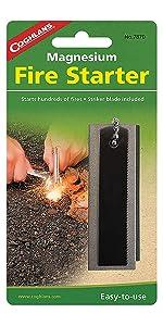 Amazon Com Coghlan S Magnesium Fire Starter Coghlans Sports