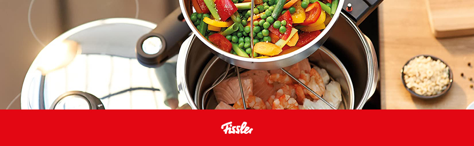 Fissler made in Germany Pressure Cooker all stoves fast-cooker induction vitavit premium