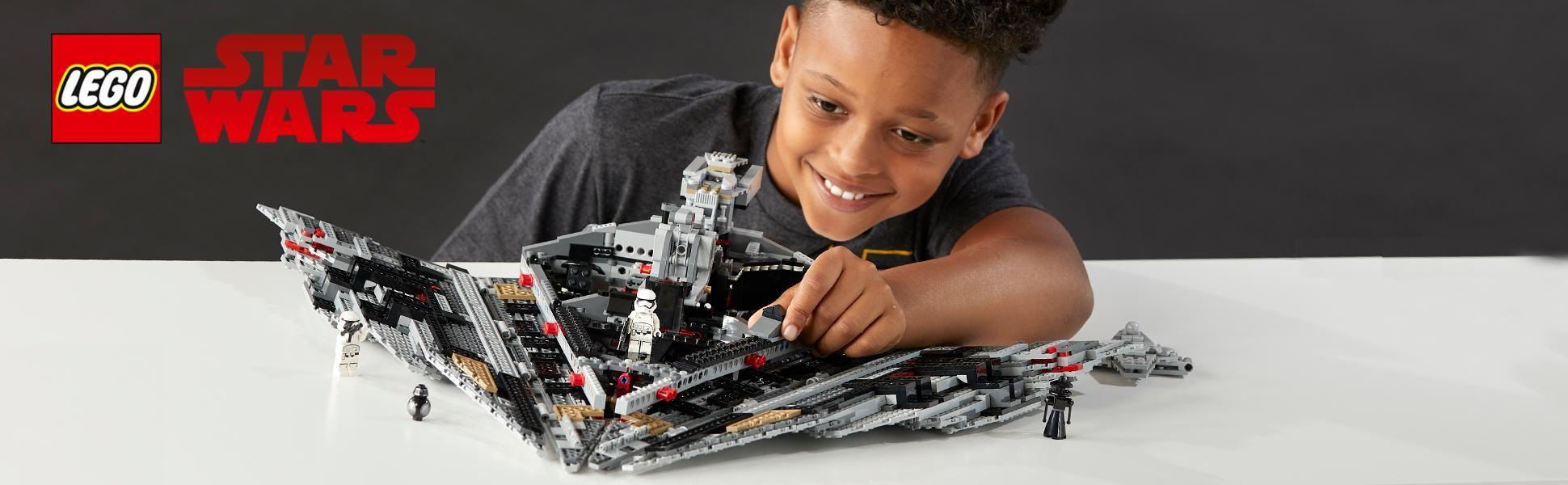 Lego star wars 75190 first order star destroyer amazon - Lego star wars 1 2 3 4 5 6 ...