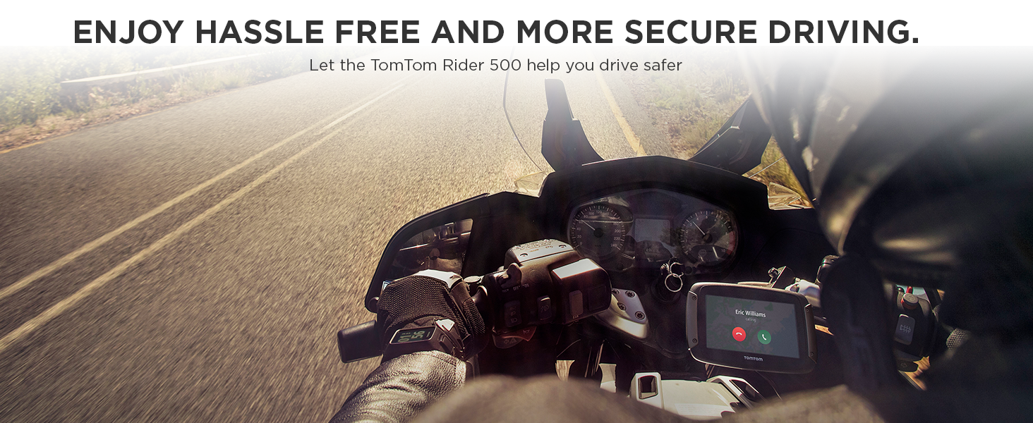 Enjoy hassle free and more secure driving