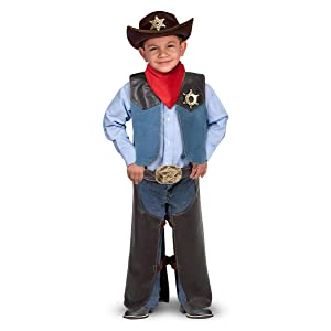 western;boy;girl;dress;up;halloween;toddler;sheriff