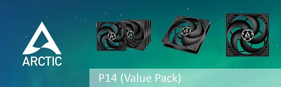 ARCTIC P14 Value Pack
