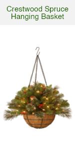 Crestwood Spruce Hanging Basket