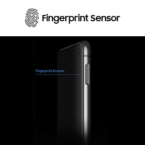 Fingerprint security scanner sensor
