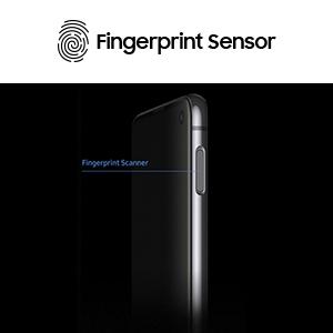 Fingerprint security scanner sensor