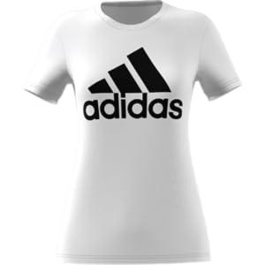 Amazon.com  adidas Women s Badge of Sport Logo Tee  Sports   Outdoors e9977edc05b