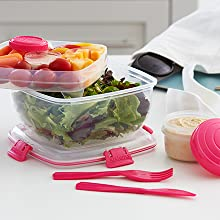 Sistema To Go Choose from a variety of sizes and types of compartments.