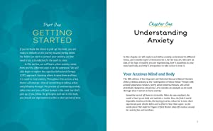anxiety, anxiety workbook, generalized anxiety disorder, anxiety relief