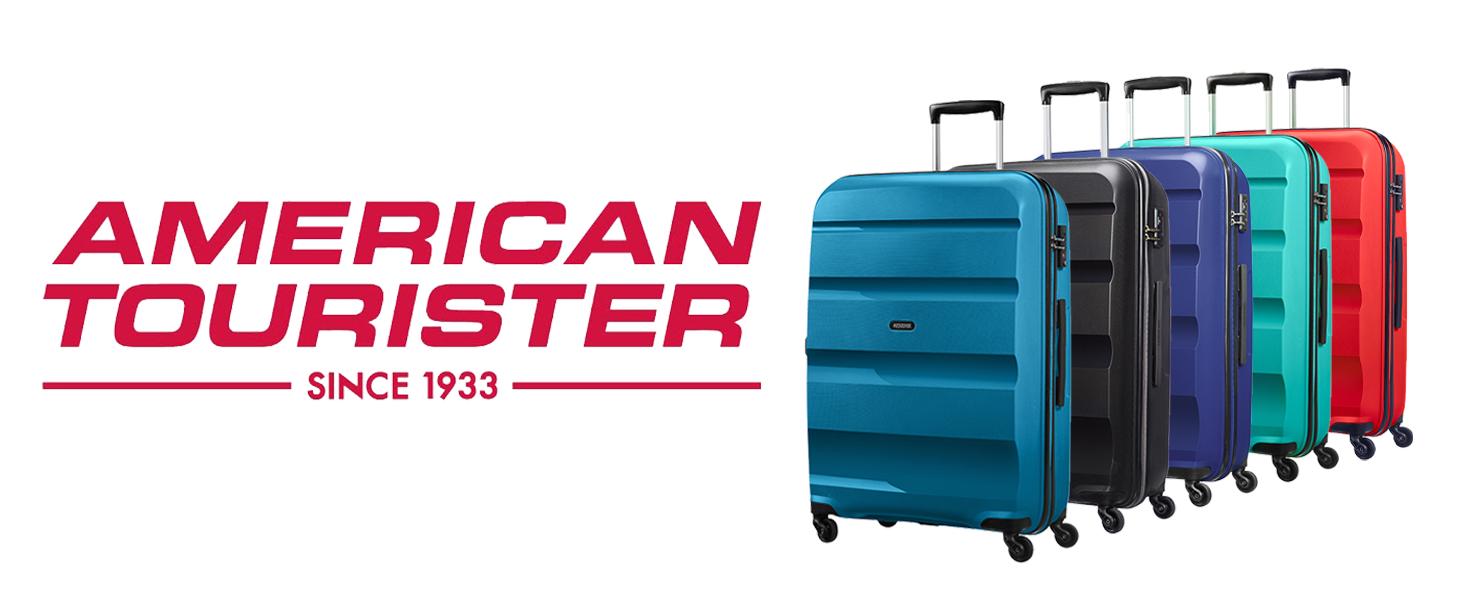 American Tourister Bon Air Spinner Valigia 75 Cm, 91 L, Nero