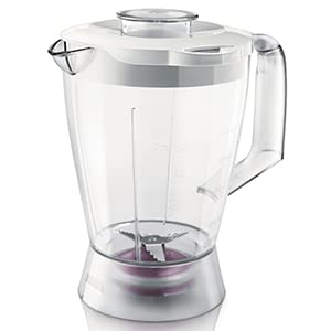 Philips 750 W Kitchen Food Processor HR7761/01 with Accessories for + 28 Functions