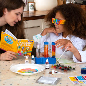 Rainbow Lab Science Experiments for Kids