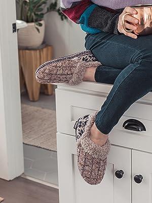 MUK LUKS, slippers, Magdelena