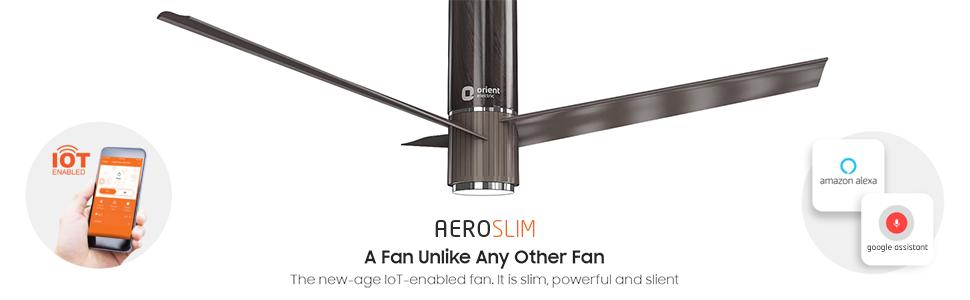 Features of Aeroslim IOT fan